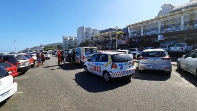 Emergency services at uMdloti beach