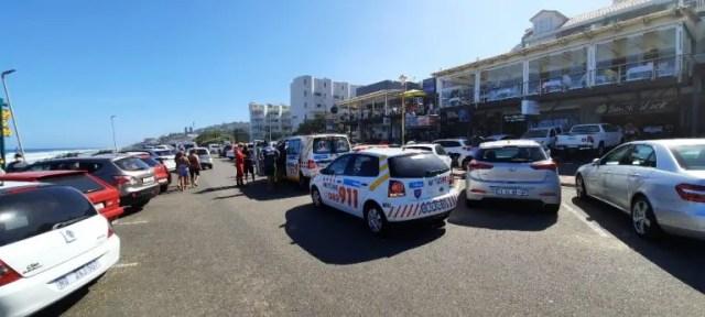 Emergency services at uMdloti beach