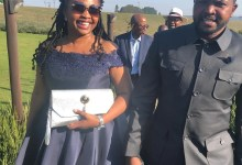 Khusela Diko and husband Chief Thandisizwe Diko II