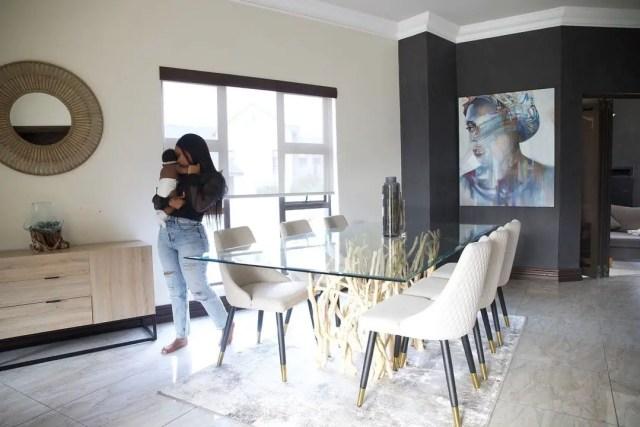 Kwesta and wife Yolanda luxurious House