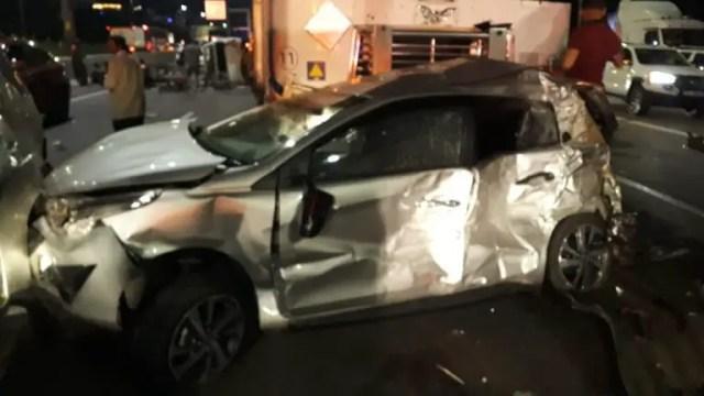 N1 multi-vehicle crash