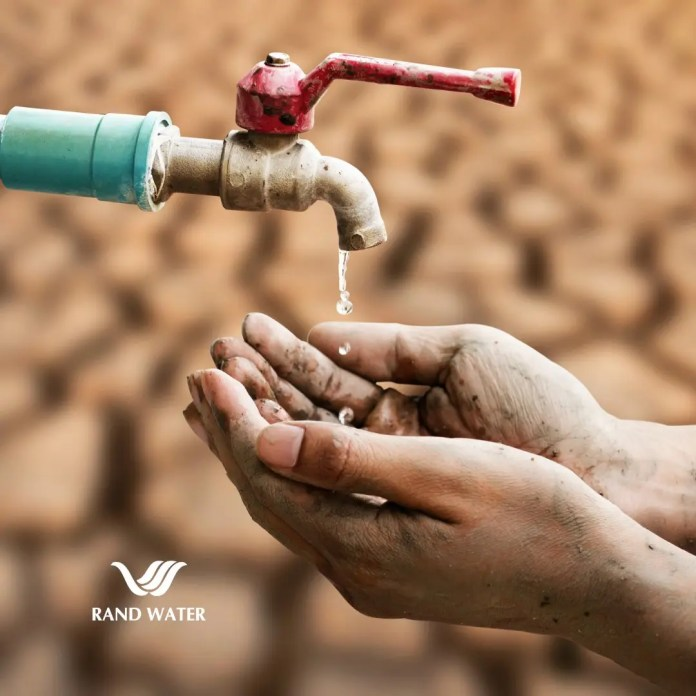 Rand Water pleased with rising reservoir levels