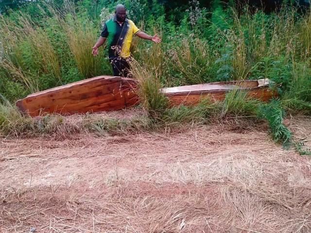 Shock as 2 coffins found in Tshwane bushes