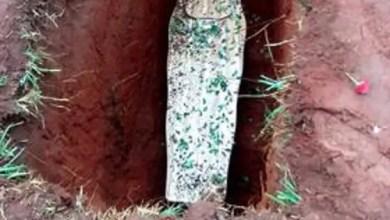 grave found open