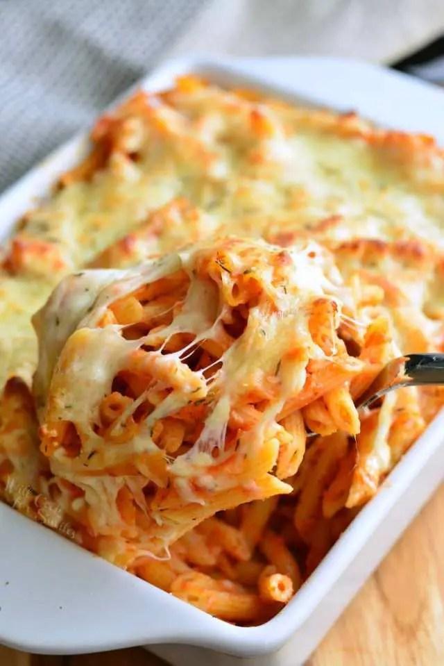 cheddar pasta bake