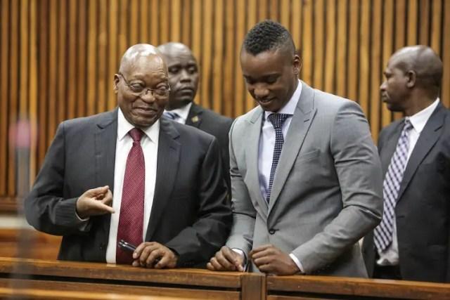 Jacob Zuma's son Duduzane Zuma
