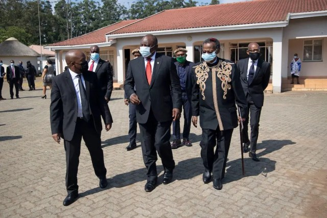 King Goodwill Zwelithini memorial service