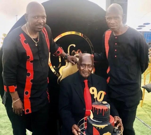 Menzi Ngubane and his father