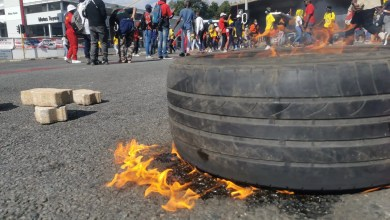 Wits protests