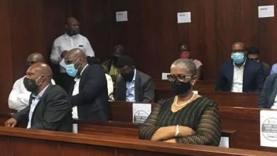 Zandile Gumede in court