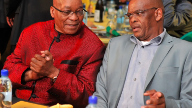 Ace Magashule and Jacob Zuma