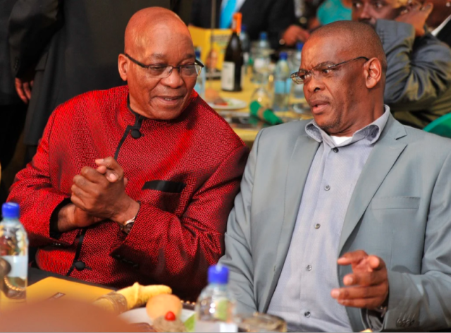 Ace Magashule and Jacob Zuma