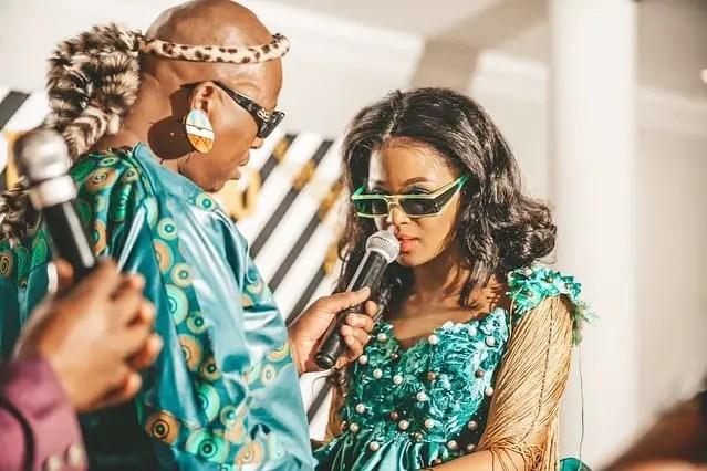 Babes Wodumo and Mampintsha's wedding