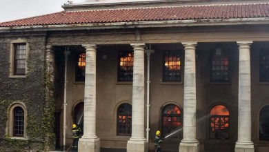 Cape Town fire destroys Jagger Reading Room