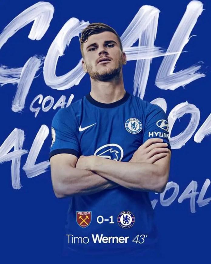 West Ham 0 – 1 Chelsea