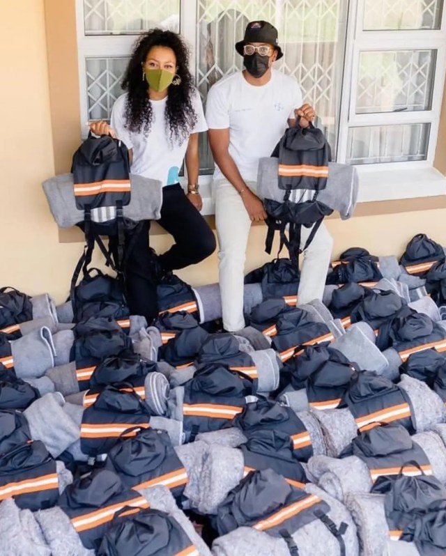 DJ Zinhle and her bae Murdah Bongz melt hearts