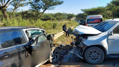 Four injured in head-on collision