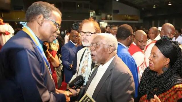 Frank Mdlalose and Inkosi Mangosuthu Buthelezi