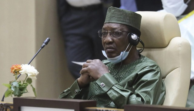 Idriss Deby has died