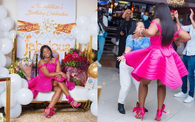 Inside Shauwn Mkhize's luxurious Birthday celebration in Cape Town