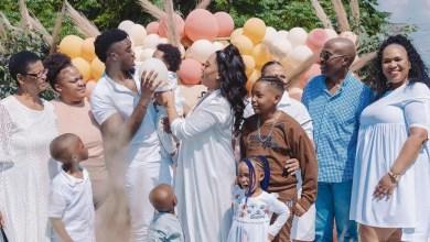 Inside Simz Ngema and Tino Chinyani's dedication event for their Baby