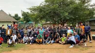 Isibaya Actors gather together to watch the show's last episode
