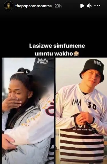 Lasizwe boyfriend