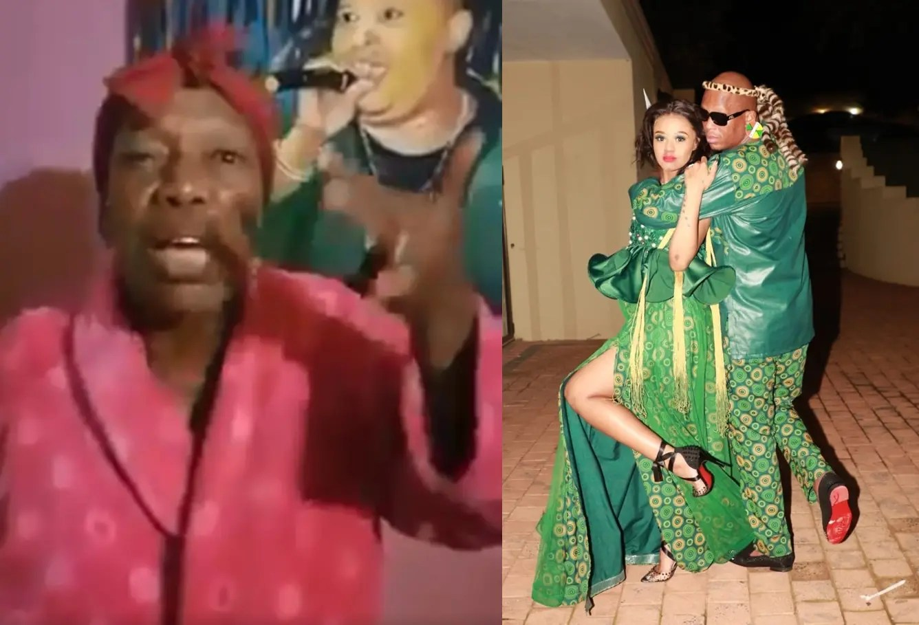 Mampintsha's mom attacks Babes Wodumo, exposes her for faking pregnancy