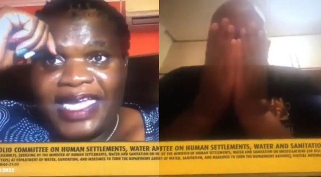 N@ked woman appears on Parliament Zoom meeting broadcasted live on national TV
