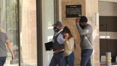 Nelli Tembe family arrives at Hotel