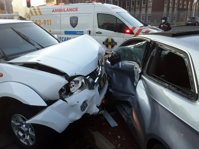 One person injured in collision