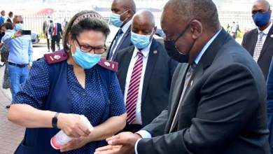 President Ramaphosa inspects Durban port