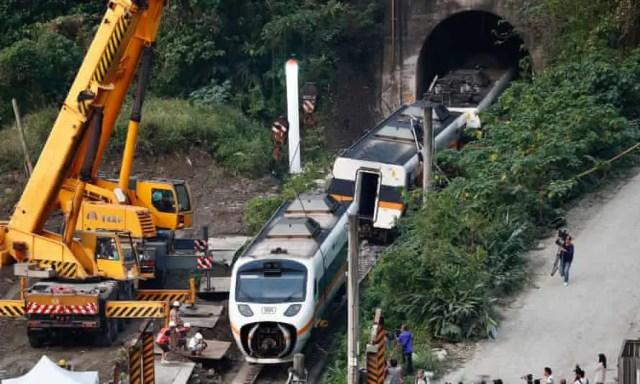 Survivors of Taiwan's worst rail crash