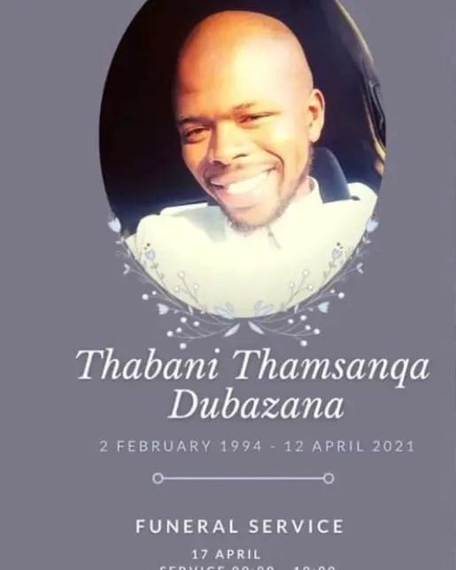 Thabani Dubazana