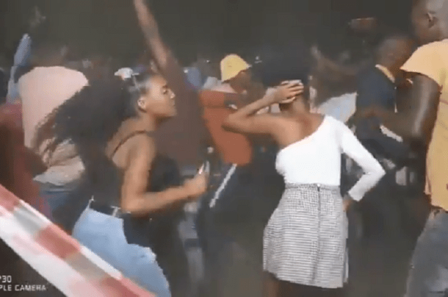 Video of South Africans wildly partying breaks social media