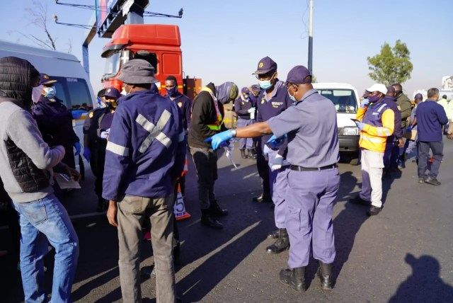 238 suspects arrested in Joburg during police operation