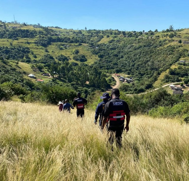 Alleged drunk KZN man rescued after falling off cliff