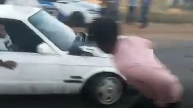 Car spinning in Kasi ends in tears