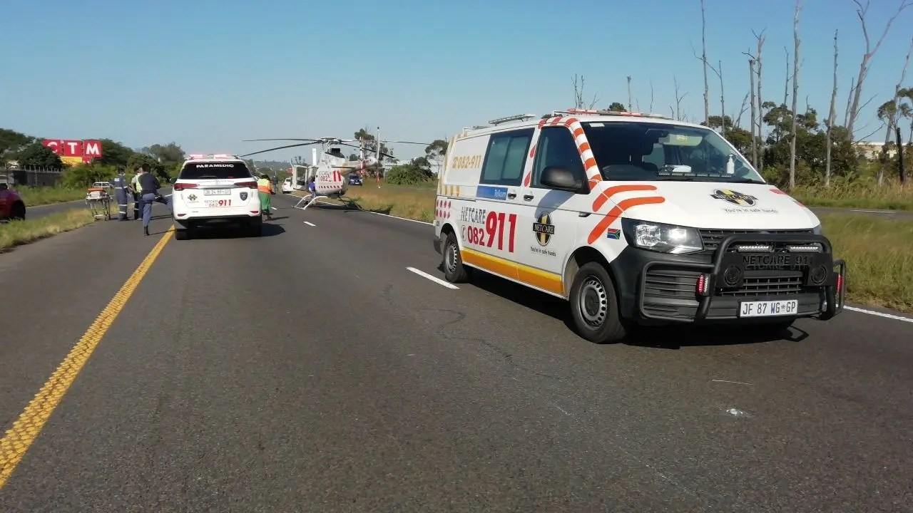 Durban traffic officer critical after being struck down by car