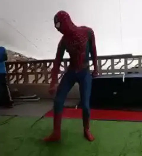 Hilarious video of SA Spider-Man at a party leaves South Africans tears