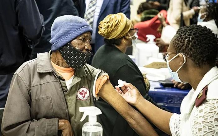 Joy and relief as elderly in Krugersdorp get COVID-19 vaccine jabs