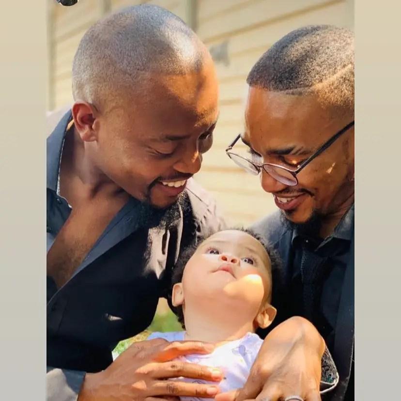 Moshe Ndiki and Phelo Bala's Baby