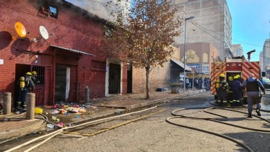 No injuries reported at building fire