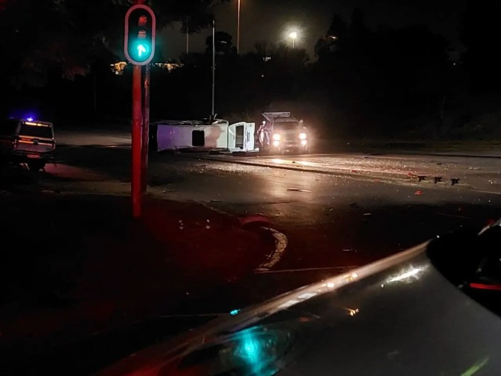 Two dead, one serious in R101 collision
