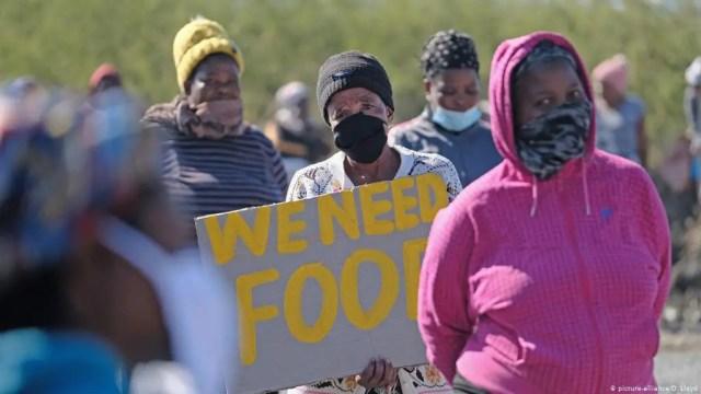 we need food - food relief corruption