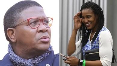 Fikile Mbalula and Dudu Zuma