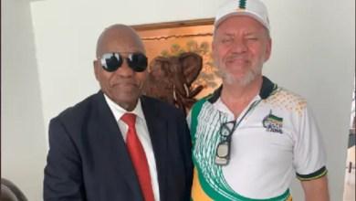 Jacob Zuma and Carl Niehaus