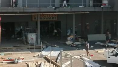 Looting incidents at Hammersdale in KwaZulu-Natal