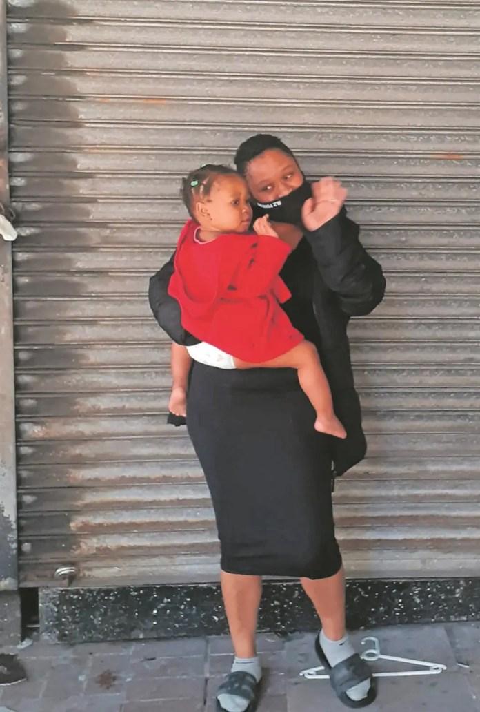 Melokuhle Manyoni and mom Naledi Manyoni
