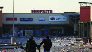 SA looting